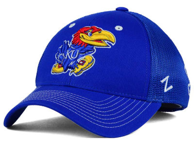Kansas Jayhawks Zephyr NCAA Screenplay Flex Hat