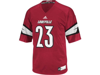 Louisville Cardinals #23 adidas NCAA Men's Replica Football Jersey