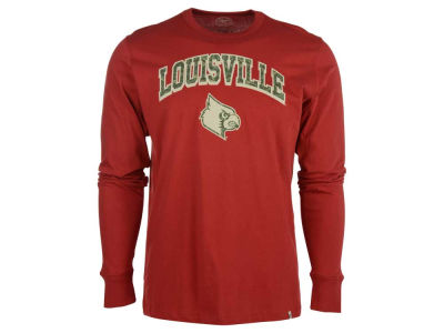 Louisville Cardinals '47 NCAA Men's OHT Long Sleeve Flanker MVP T-Shirt