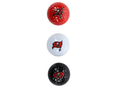 Tampa Bay Buccaneers 3-pack Golf Ball Set