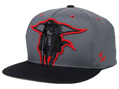 Texas Tech Red Raiders Zephyr NCAA Gridiron Snapback Hat