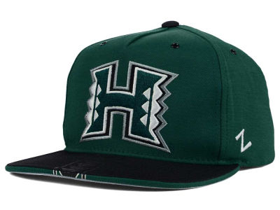 Hawaii Warriors Zephyr NCAA Gridiron Snapback Hat