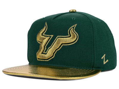 South Florida Bulls Zephyr NCAA Gridiron Snapback Hat