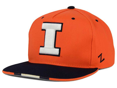 Illinois Fighting Illini Zephyr NCAA Gridiron Snapback Hat