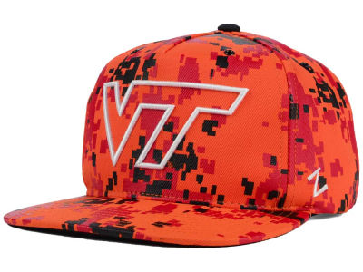 Virginia Tech Hokies Zephyr NCAA Gridiron Snapback Hat