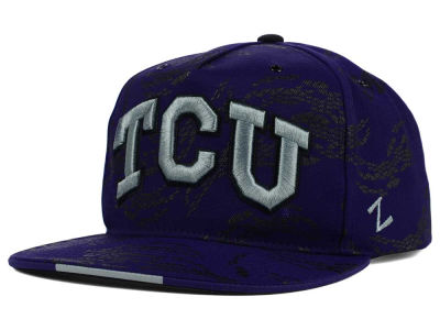 Texas Christian Horned Frogs Zephyr NCAA Gridiron Snapback Hat