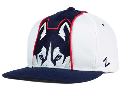 Connecticut Huskies Zephyr NCAA Gridiron Snapback Hat