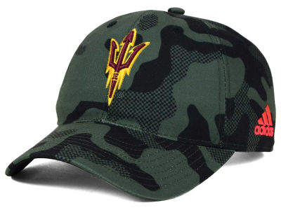 Arizona State Sun Devils adidas NCAA Veterans Day Camo Slouch Adjustable Cap