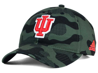 Indiana Hoosiers adidas NCAA Veterans Day Camo Slouch Adjustable Cap
