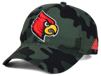 Louisville Cardinals adidas NCAA Veterans Day Camo Slouch Adjustable Cap