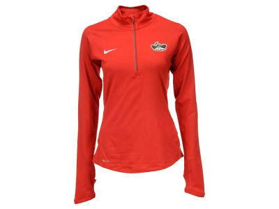 UNLV Runnin Rebels Nike NCAA Women's Stadium Element 1/4 Zip Pullover Shirt