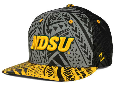 North Dakota State Bison Zephyr NCAA Kahuku Snapback Hat