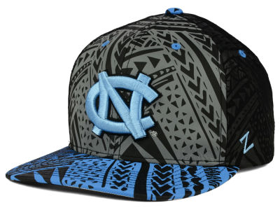 North Carolina Tar Heels Zephyr NCAA Kahuku Snapback Hat