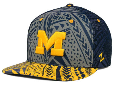 Michigan Wolverines Zephyr NCAA Kahuku Snapback Hat