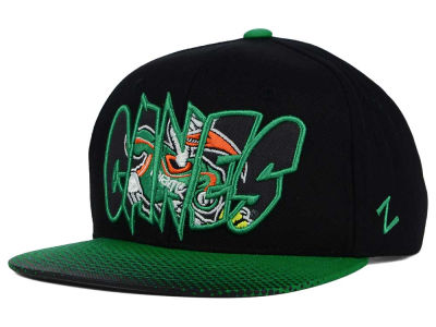 Miami Hurricanes Zephyr NCAA Youth Graffiti Hat