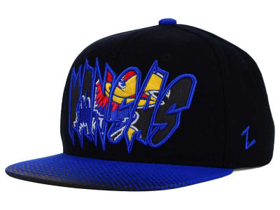 Kansas Jayhawks Zephyr NCAA Youth Graffiti Hat