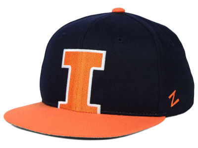 Illinois Fighting Illini Zephyr NCAA Youth Peek Snapback Hat