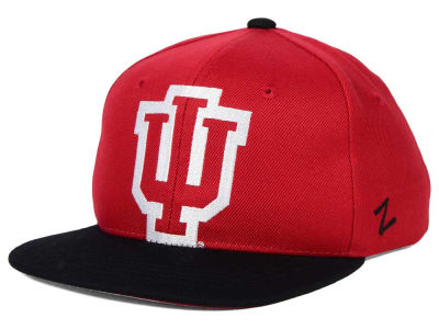 Indiana Hoosiers Zephyr NCAA Youth Peek Snapback Hat