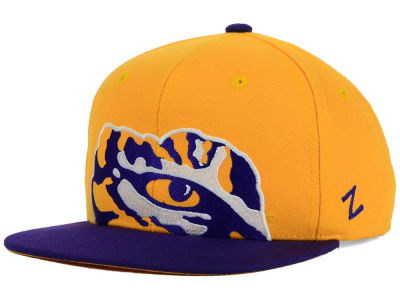 LSU Tigers Zephyr NCAA Youth Peek Snapback Hat