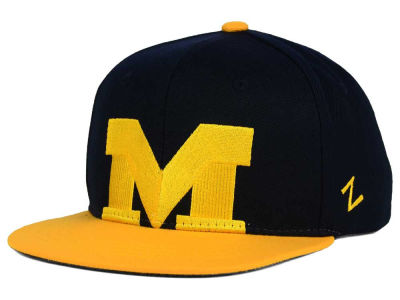 Michigan Wolverines Zephyr NCAA Youth Peek Snapback Hat