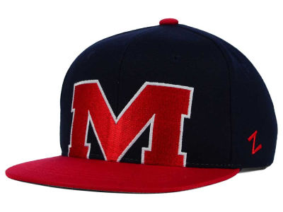 Ole Miss Rebels Zephyr NCAA Youth Peek Snapback Hat