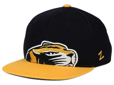 Missouri Tigers Zephyr NCAA Youth Peek Snapback Hat