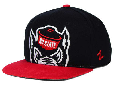North Carolina State Wolfpack Zephyr NCAA Youth Peek Snapback Hat