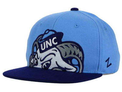 North Carolina Tar Heels Zephyr NCAA Youth Peek Snapback Hat
