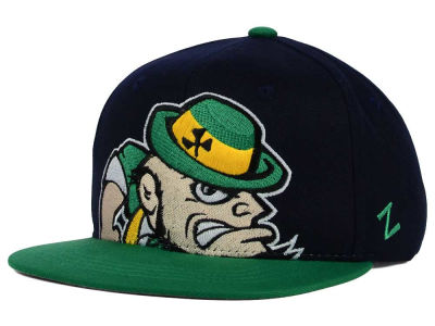 Notre Dame Fighting Irish Zephyr NCAA Youth Peek Snapback Hat