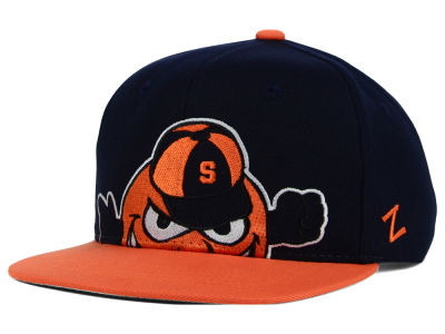 Syracuse Orange Zephyr NCAA Youth Peek Snapback Hat