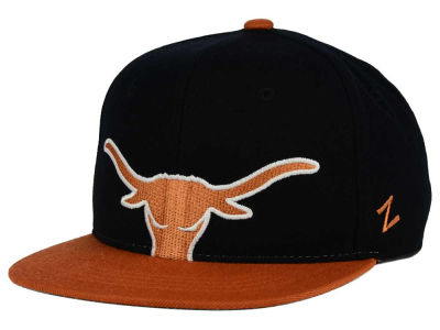 Texas Longhorns Zephyr NCAA Youth Peek Snapback Hat