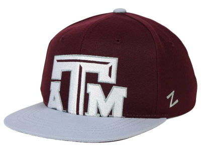 Texas A&M Aggies Zephyr NCAA Youth Peek Snapback Hat