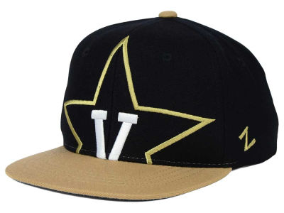 Vanderbilt Commodores Zephyr NCAA Youth Peek Snapback Hat