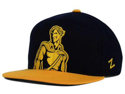 West Virginia Mountaineers Zephyr NCAA Youth Peek Snapback Hat