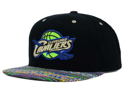 Cleveland Cavaliers Mitchell and Ness NBA Tribal BW Snapback Cap