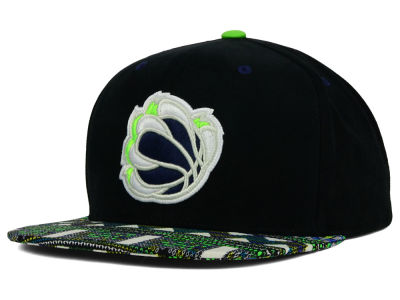 Memphis Grizzlies Mitchell and Ness NBA Tribal BW Snapback Cap