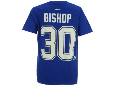 Tampa Bay Lightning Ben Bishop Reebok NHL Youth Player T-Shirt