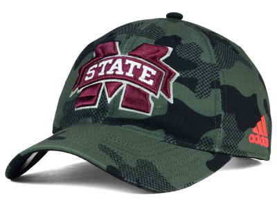 Mississippi State Bulldogs adidas NCAA Veterans Day Camo Slouch Adjustable Cap