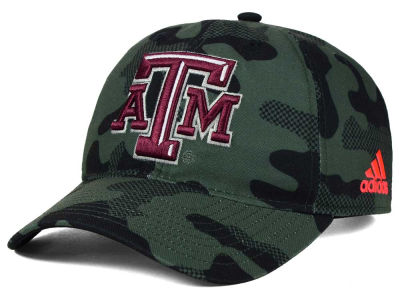 Texas A&M Aggies adidas NCAA Veterans Day Camo Slouch Adjustable Cap