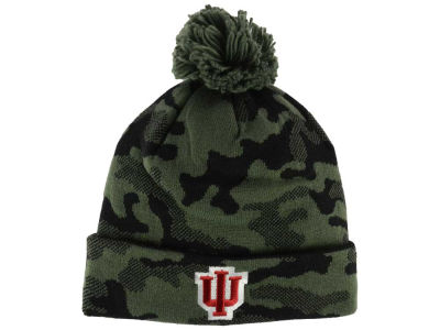 Indiana Hoosiers adidas NCAA Veterans Day Camo Knit