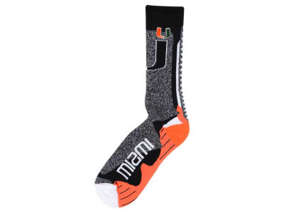 Miami Hurricanes Downtown Crew Socks