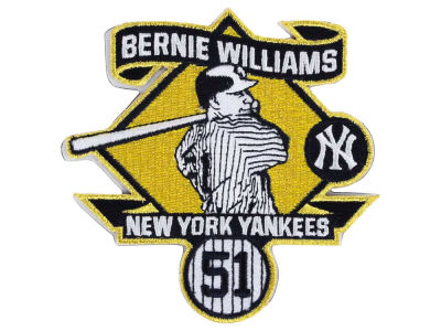 New York Yankees Bernie Williams Patch-Event