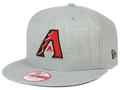 Arizona Diamondbacks New Era MLB Heather Team Color 9FIFTY Snapback Cap