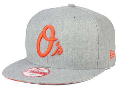 Baltimore Orioles New Era MLB Heather Team Color 9FIFTY Snapback Cap