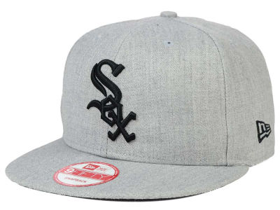 Chicago White Sox New Era MLB Heather Team Color 9FIFTY Snapback Cap