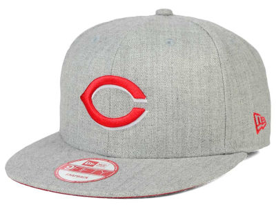 Cincinnati Reds New Era MLB Heather Team Color 9FIFTY Snapback Cap