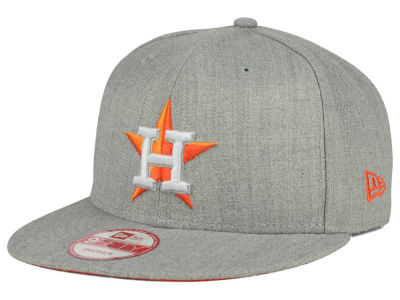 Houston Astros New Era MLB Heather Team Color 9FIFTY Snapback Cap