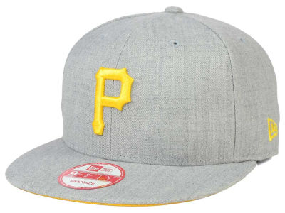 Pittsburgh Pirates New Era MLB Heather Team Color 9FIFTY Snapback Cap