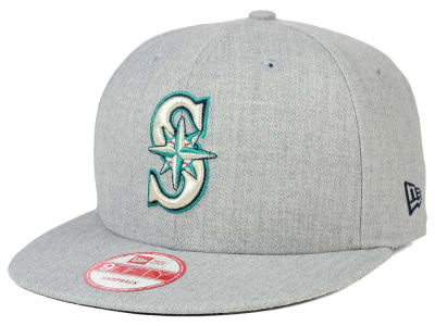 Seattle Mariners New Era MLB Heather Team Color 9FIFTY Snapback Cap