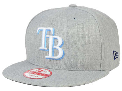 Tampa Bay Rays New Era MLB Heather Team Color 9FIFTY Snapback Cap